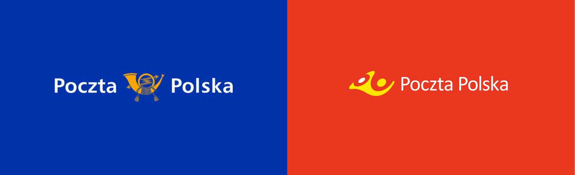 Poczta polska stare inowe logo