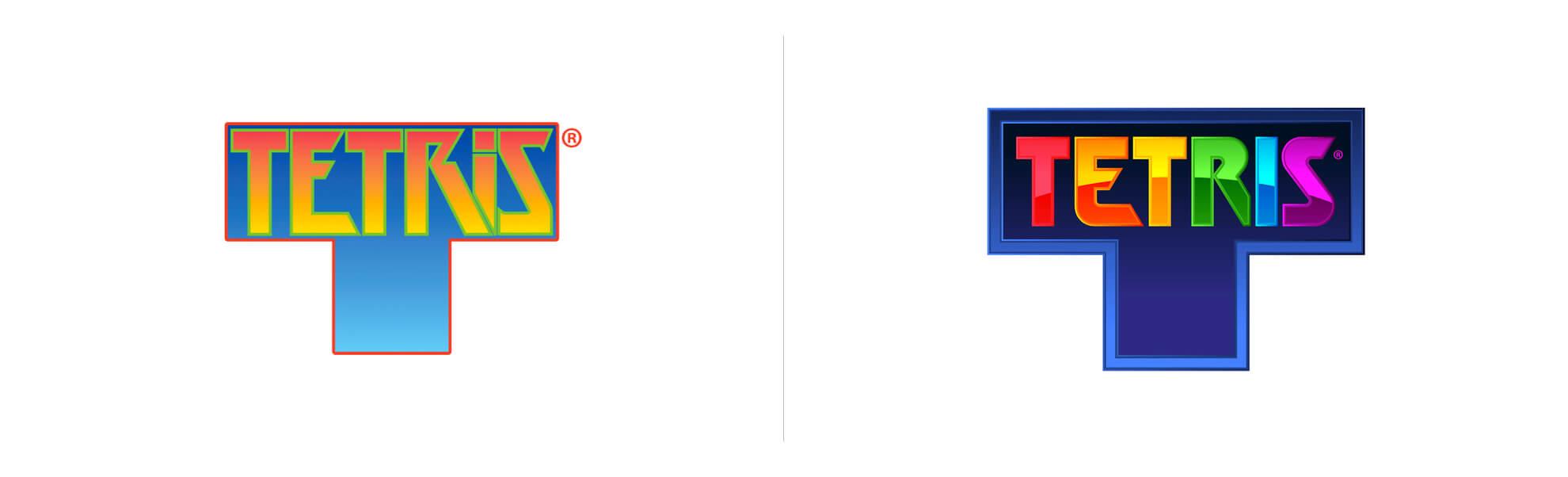 Tetris zmienia logo