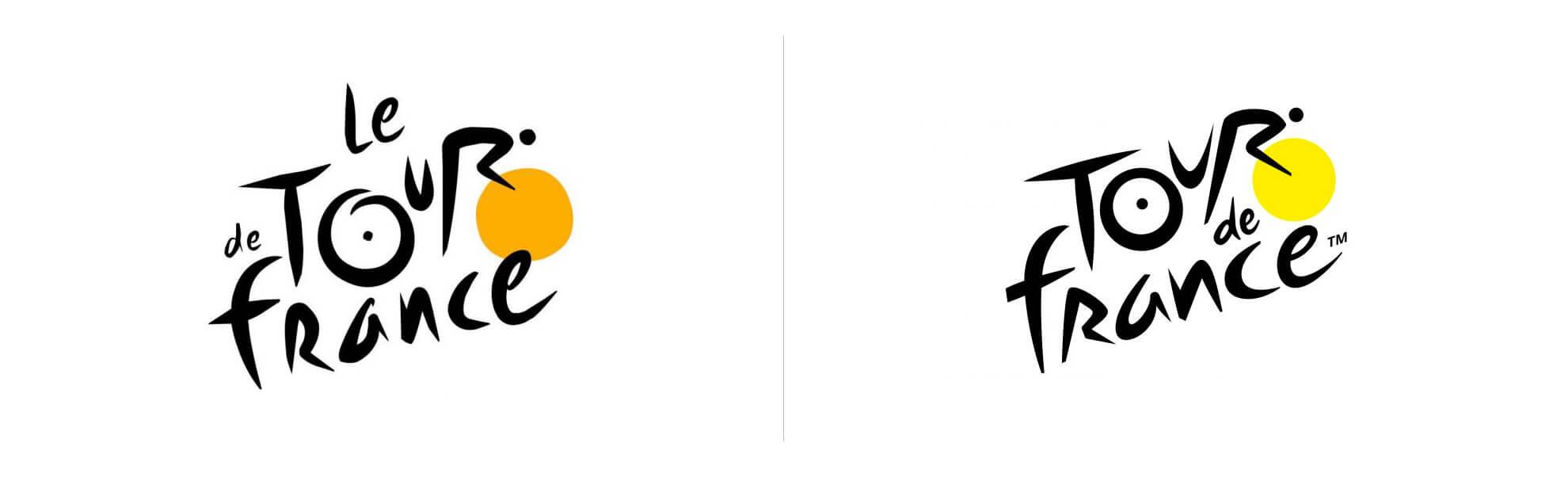 Tour de France ma nowe logo