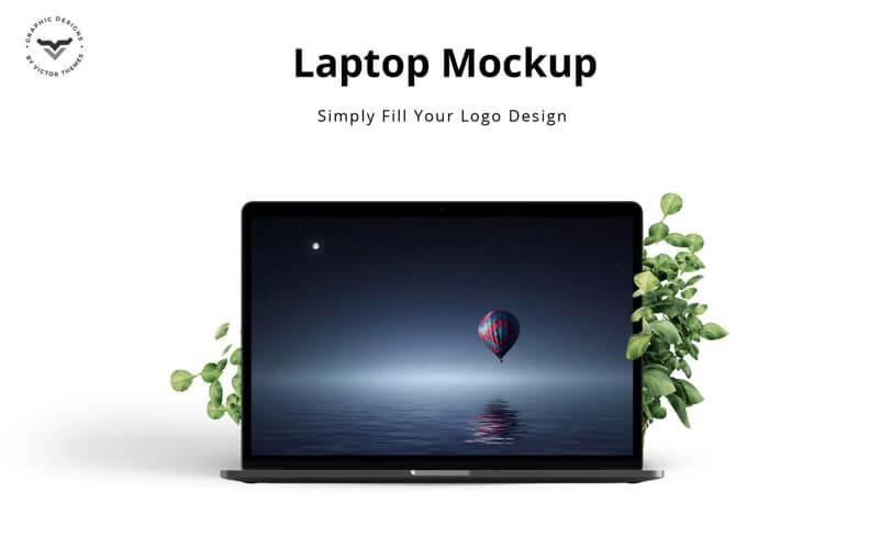mockup laptopa