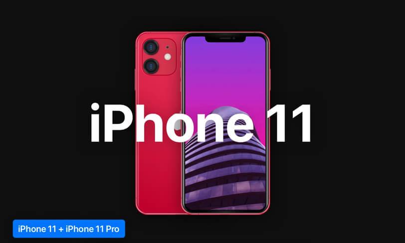 Darmowe mockupy iPhone 11 iiPhone 11 pro