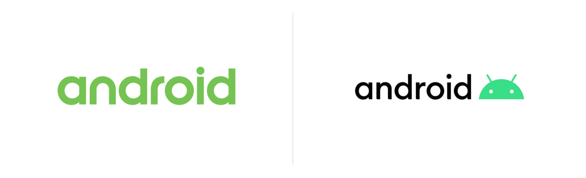 Stare inowe logo Androida