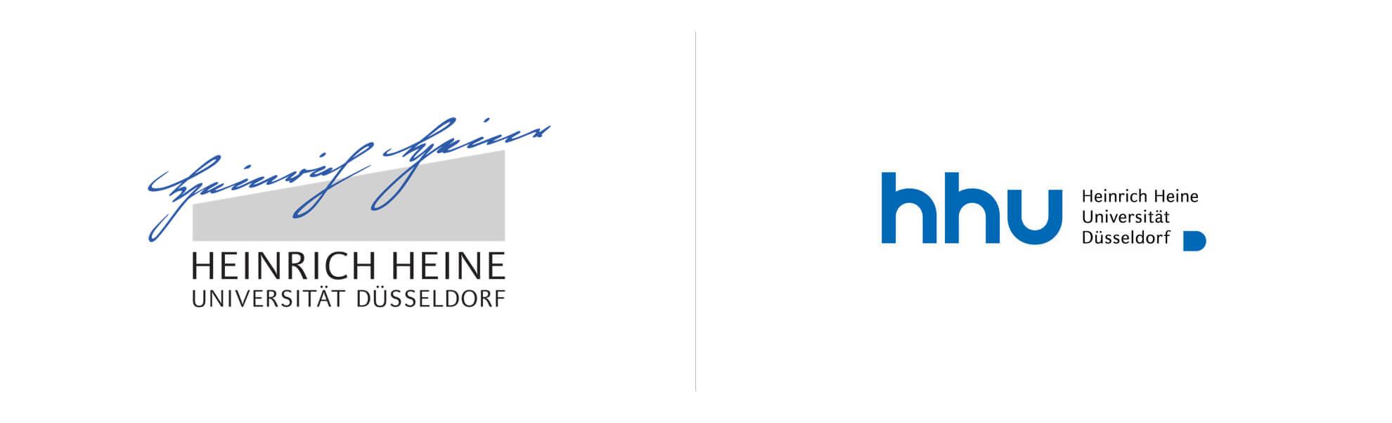 HHU nowe istare logo