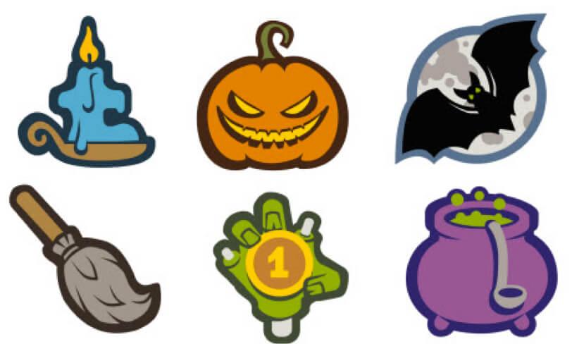 darmowe ikony halloween