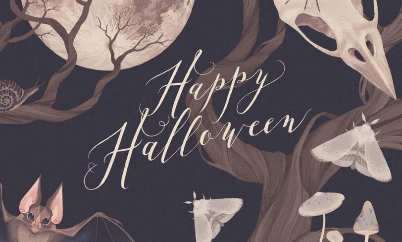 darmowe ilustracje halloween
