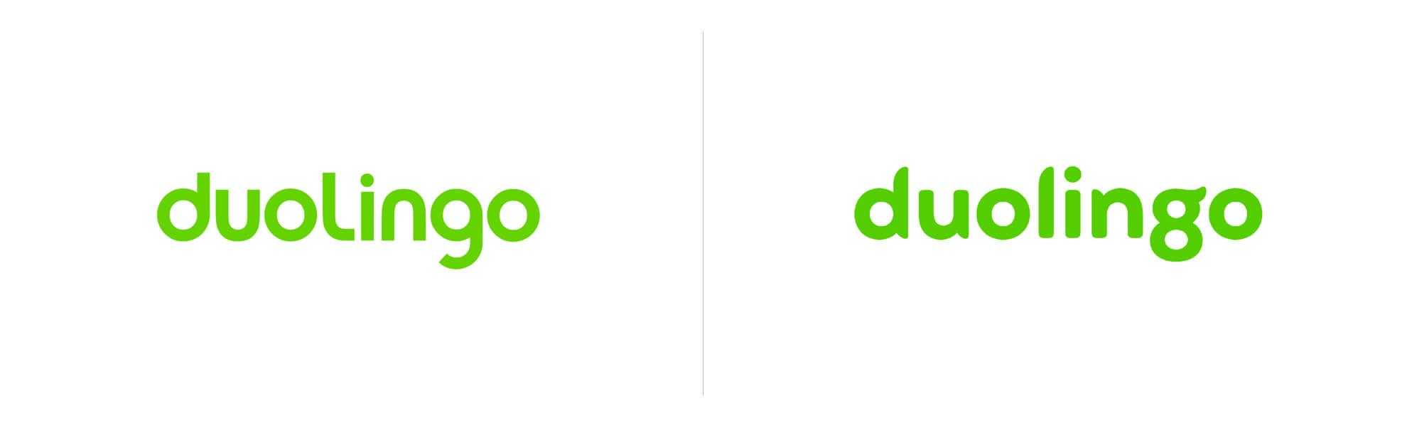 Stary inowy logotyp Duolingo