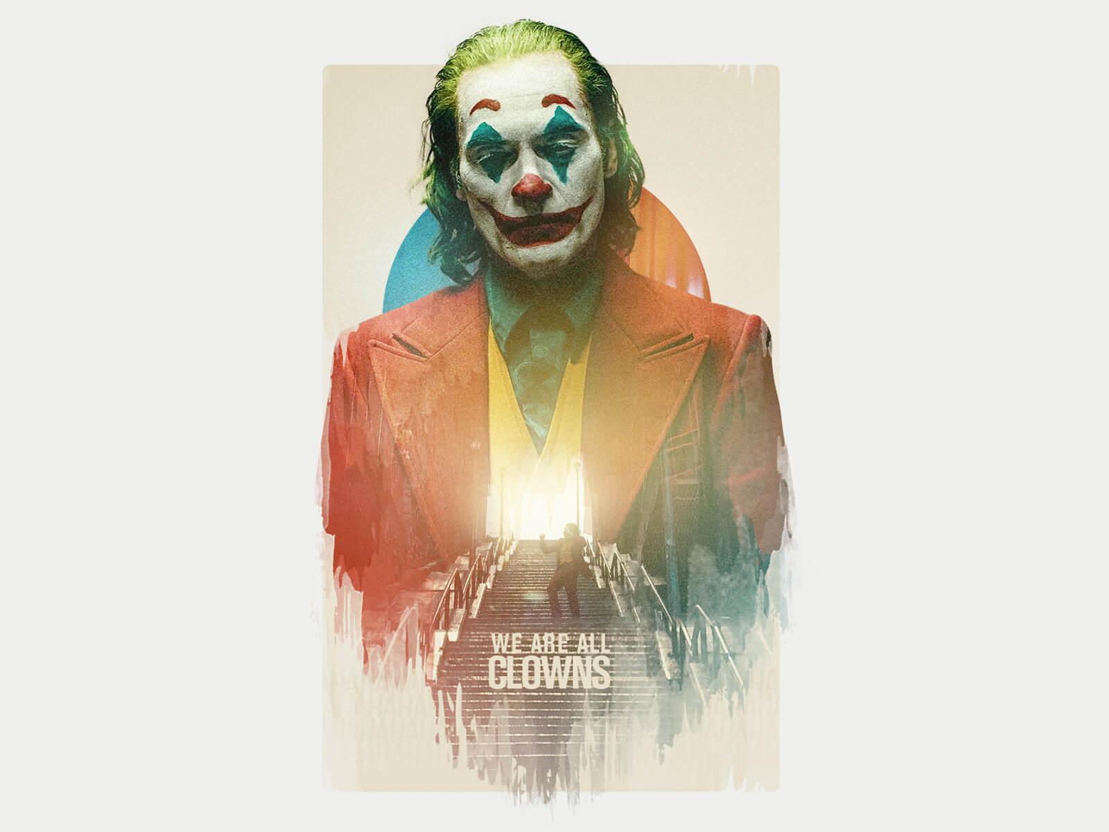 Joker film ilustracja fanart