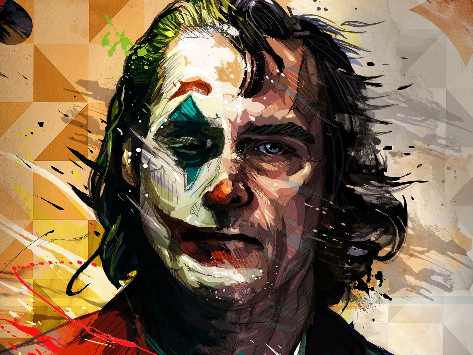 Dpicso – Joaquin Phoenix Joker artistic Poster
