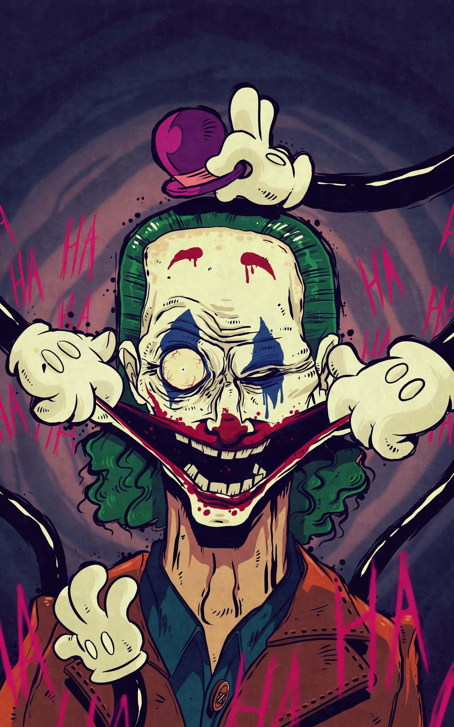 Joker – ilustracja
