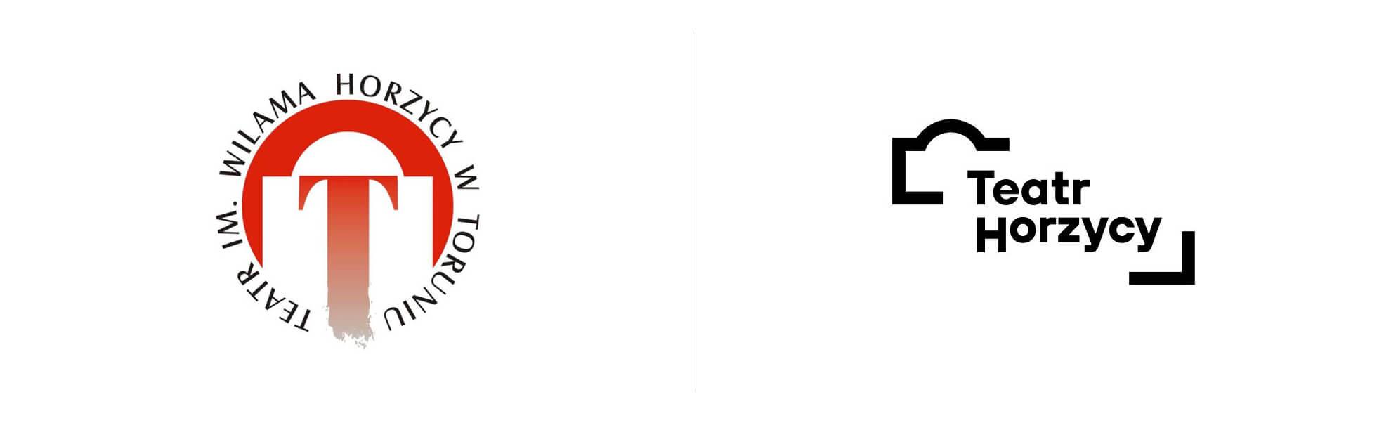 Zmiana logo Teatru Horzycy wToruniu