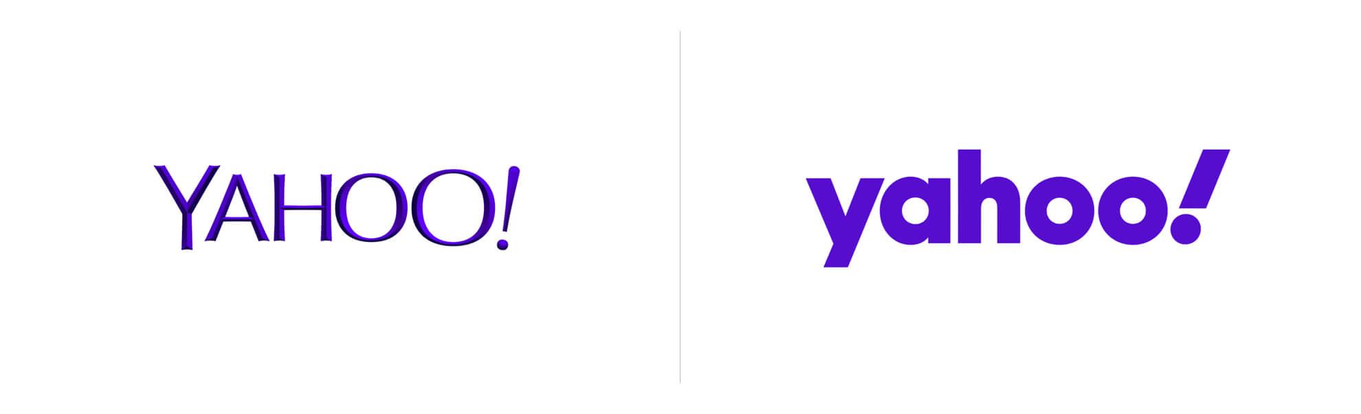 Stare inowe logo Yahoo!