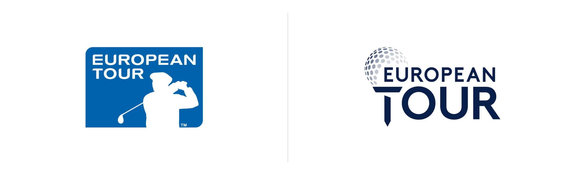 Golf European Tour znowym logo