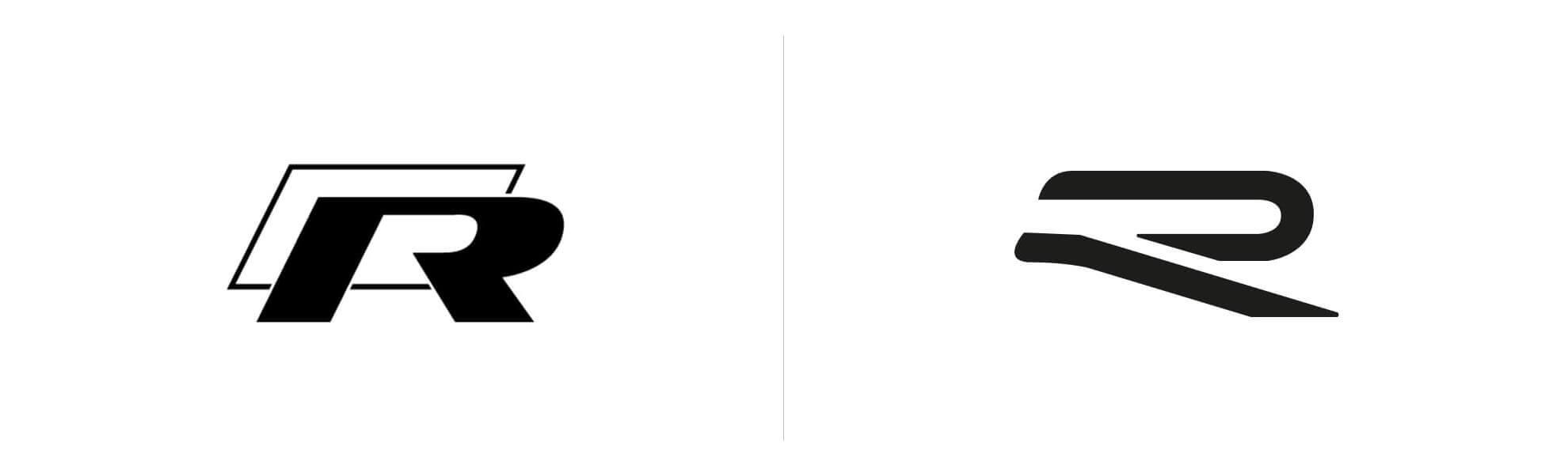 Volkswagen R nowe logo