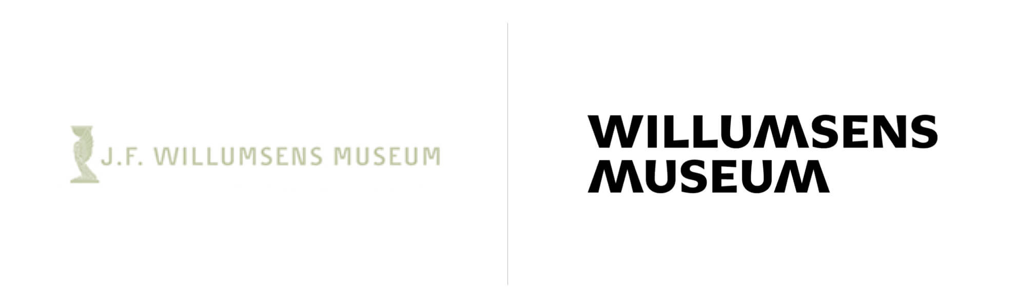 Willumsens Museum ma nowe logo