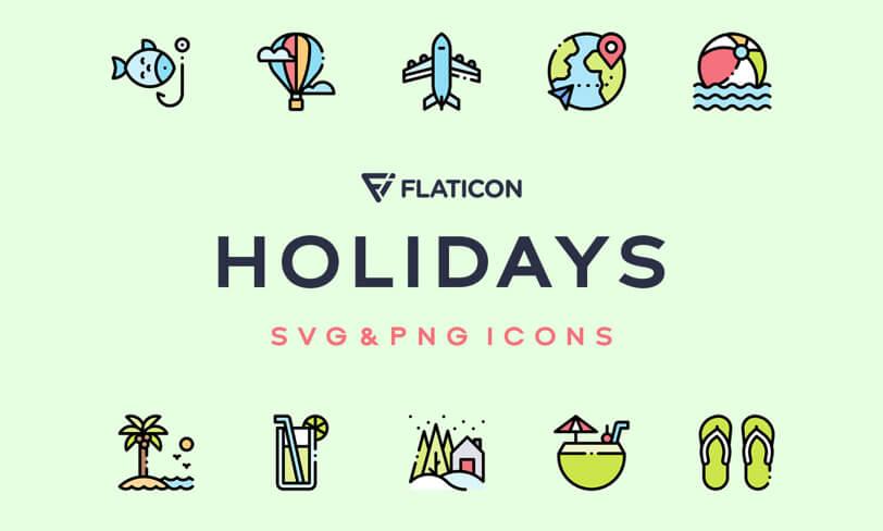 darmowe ikony wakacje