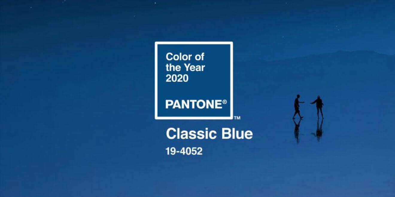Classic Blue – kolor roku 2020 według Pantone