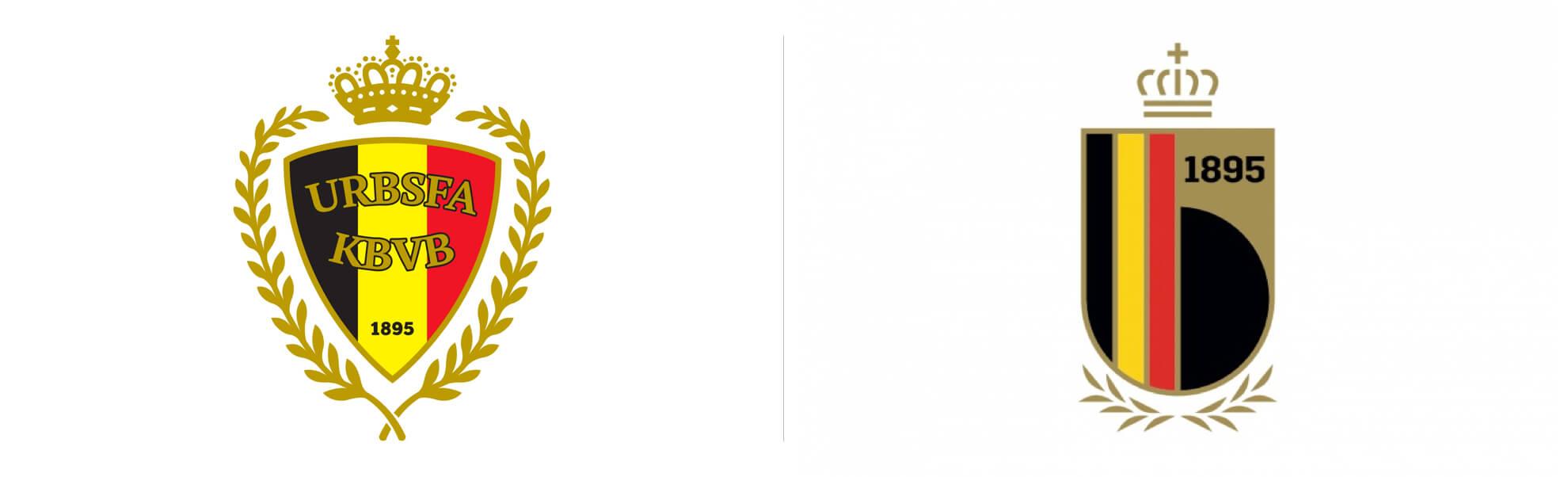 Royal Belgian Football Association znowym logo