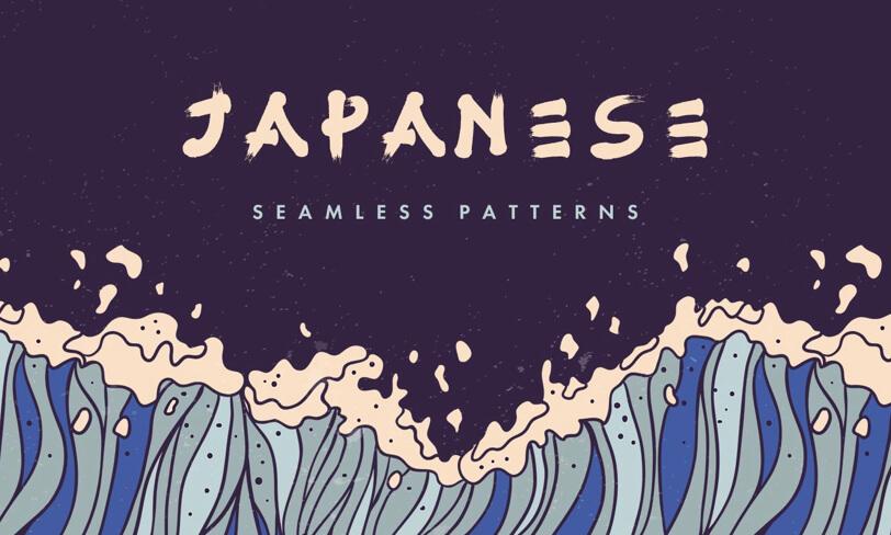 darmowe patterny wstylu japońskim