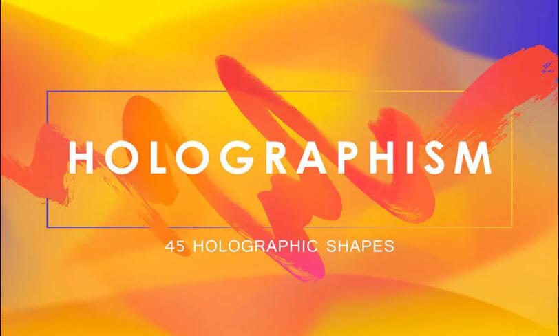 darmowe holograficzne kształty