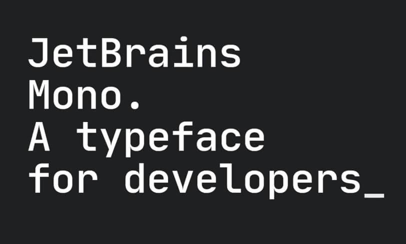 jetbrains mono – darmowy font dla programistów