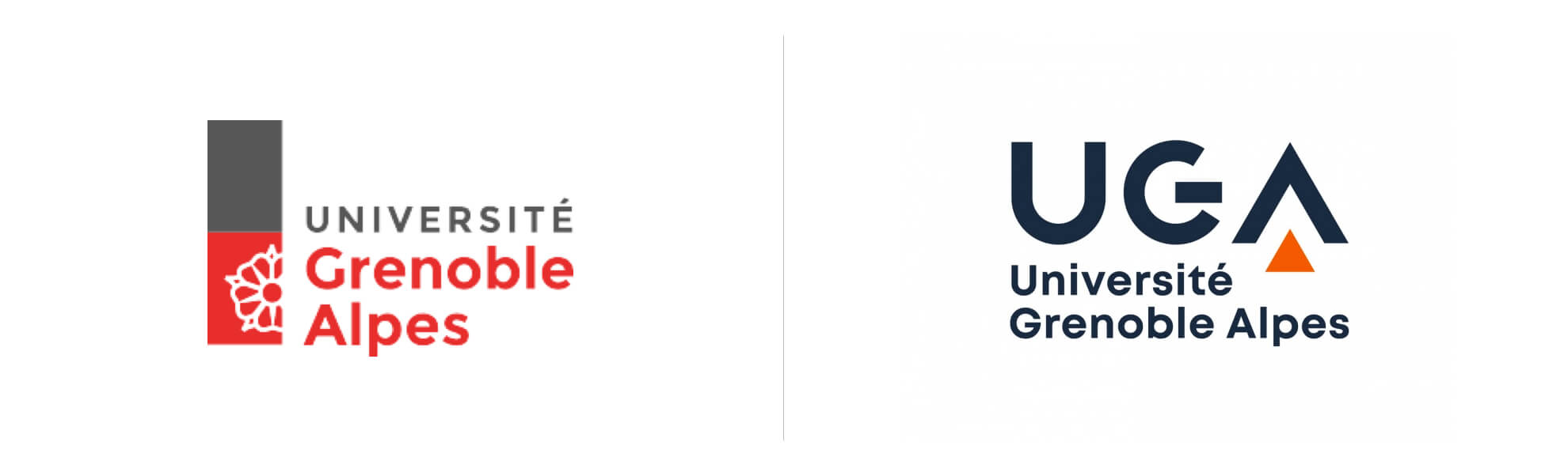 Université Grenoble Alpes ma nowe logo