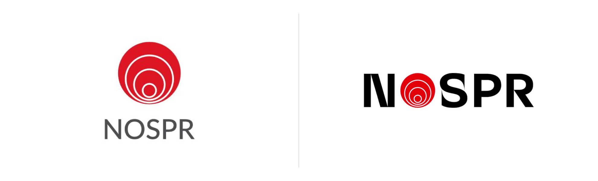 NOSPR znowym logo