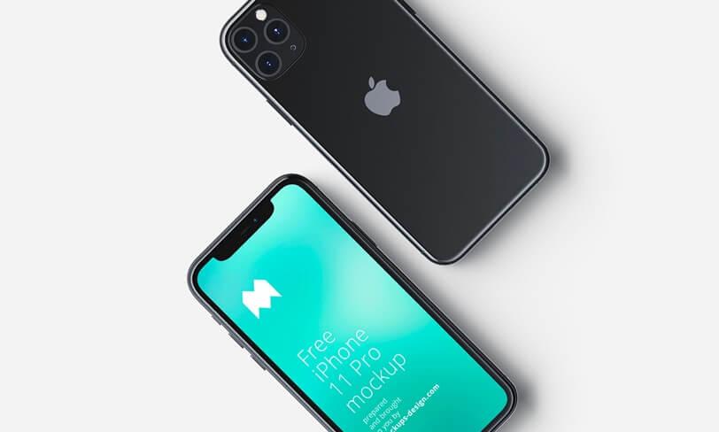 darmowy mockup iphone 11 pro