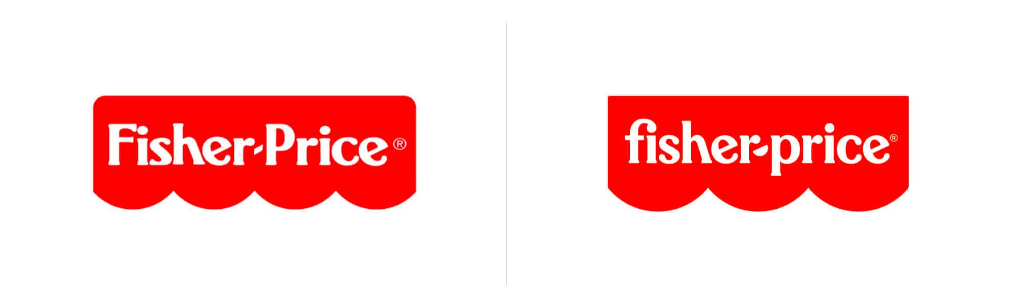 nowe logo Fisher-Price