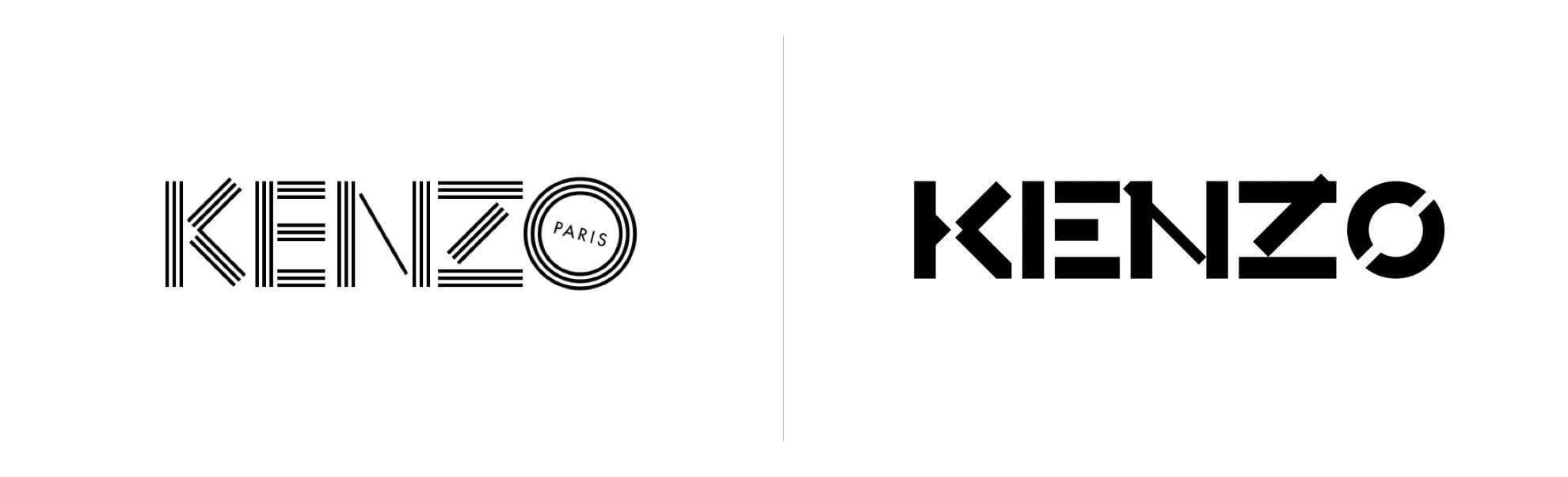 Nowe logo Kenzo