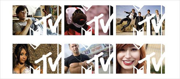 mtv logo maska