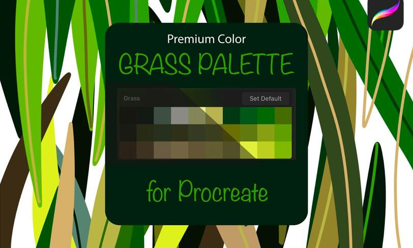paleta kolorów doprocreate
