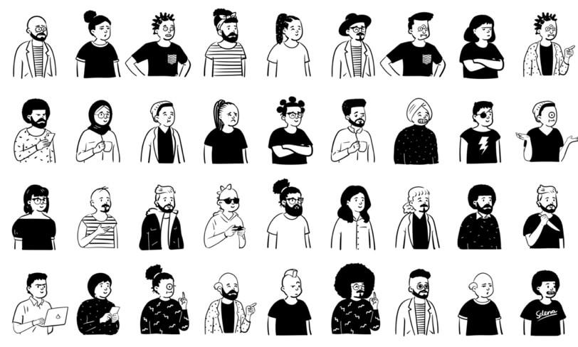 darmowe ilustracje postaci