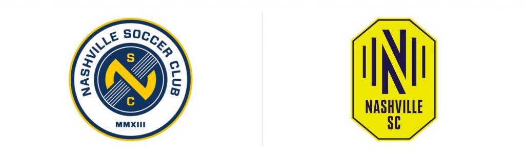 nashville sc debiutuje wmls znowym logo