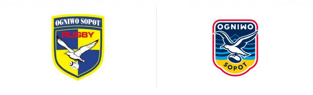 Ogniwo Sopot nowe logo