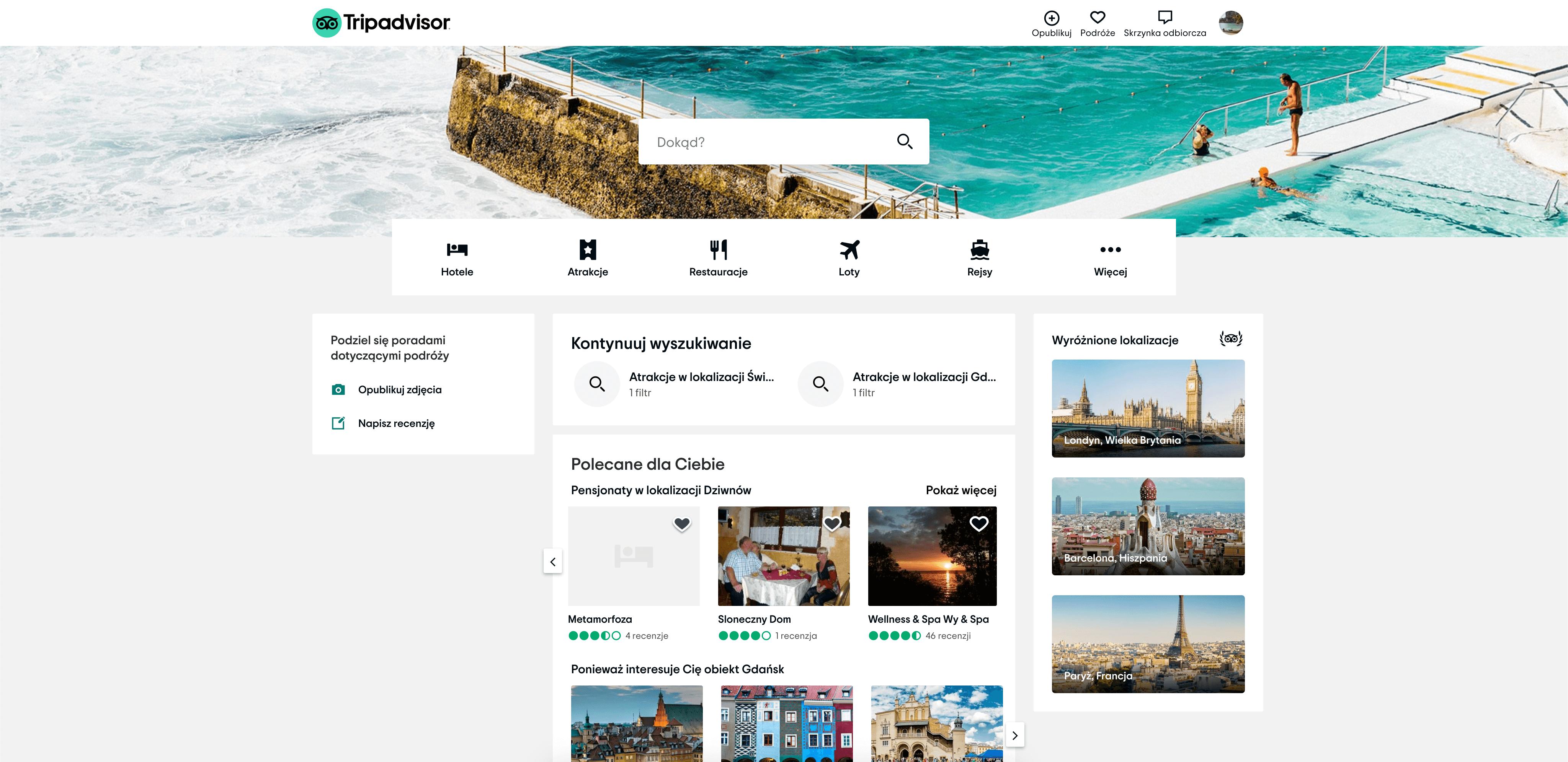 tripadvisor strona www
