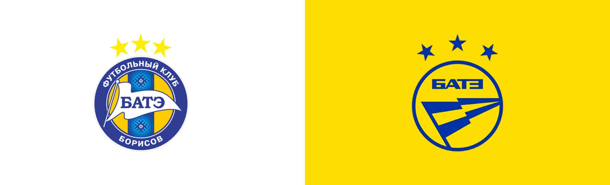 nowe logo białoruskiego Bate Borysow