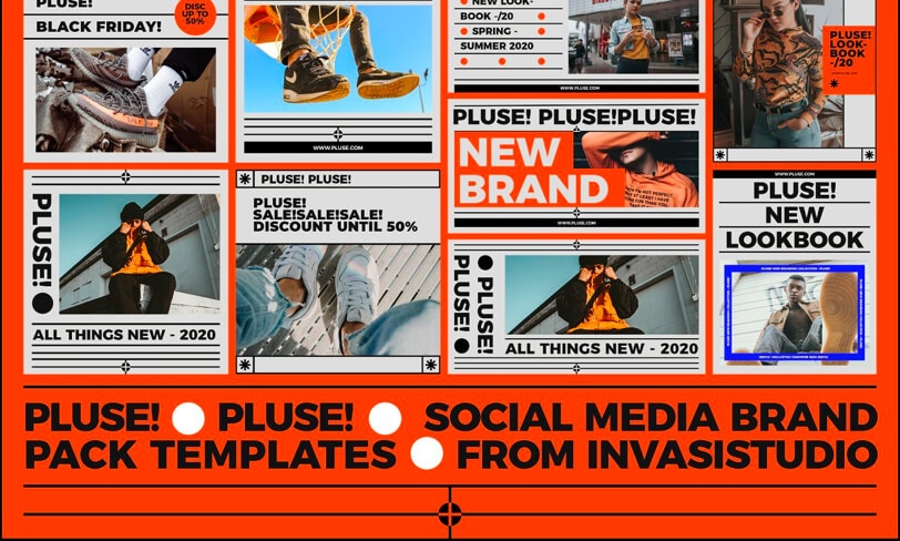 darmowy szablon social media