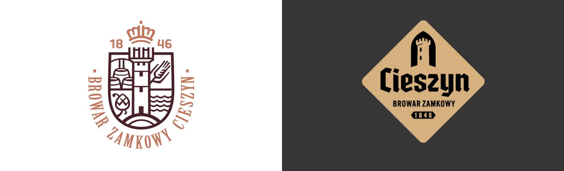 browar zamkowy wcieszynie znowym logo