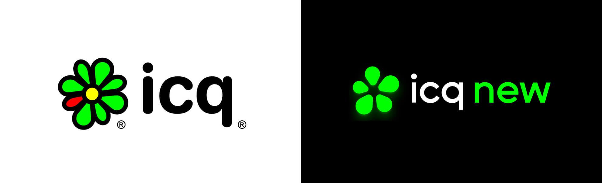 icq znowym logo