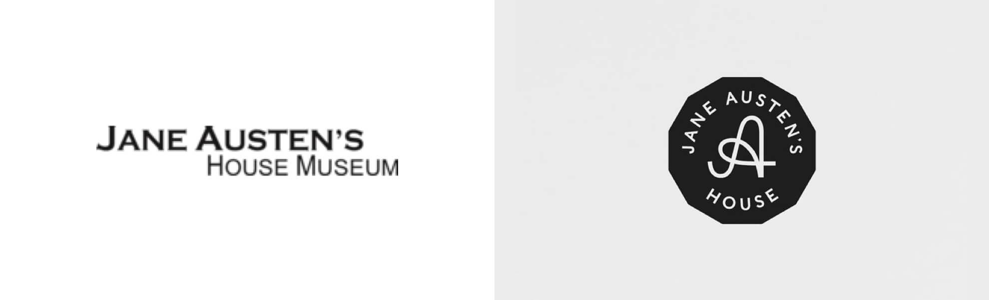 Jane Austen muzeum znowym logo