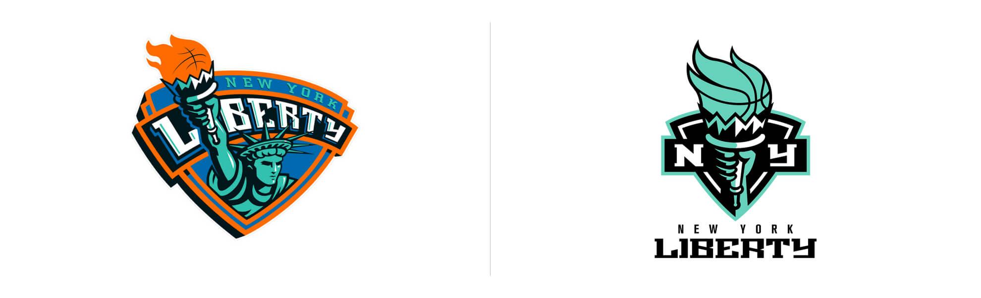 new york liberty znowym logo