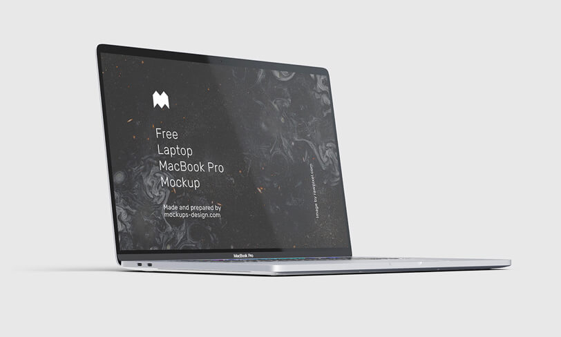 darmowy mockup macbooka pro