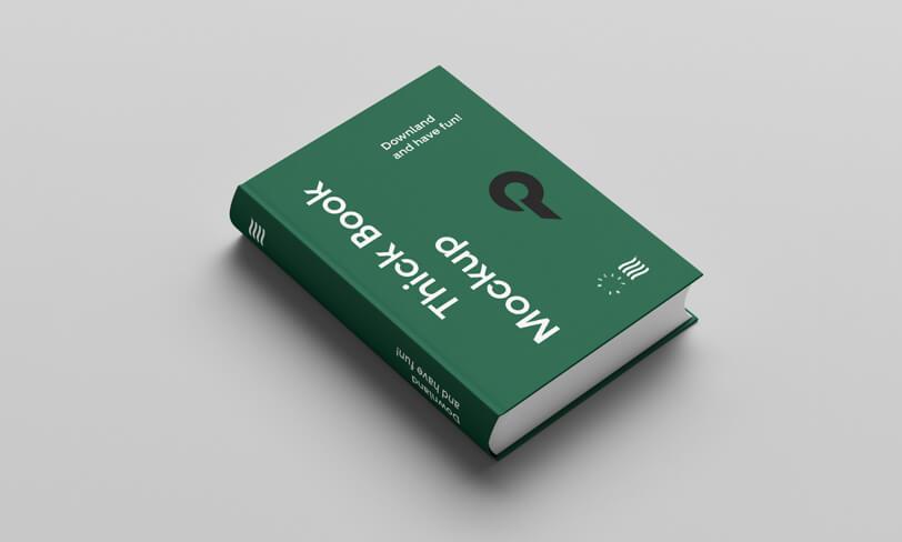 darmowy mockup książki