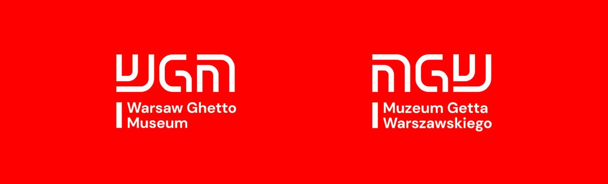 muzeum Getta Warszawskiego ma nową identyfokację odDADADA Studio