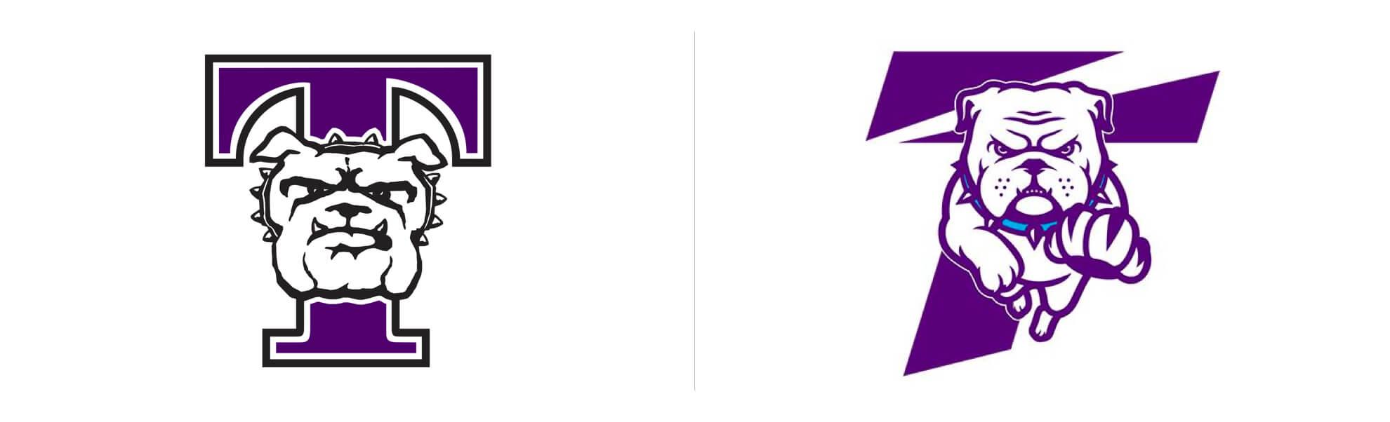 sportowcy zTruman State University równiez znowym logo
