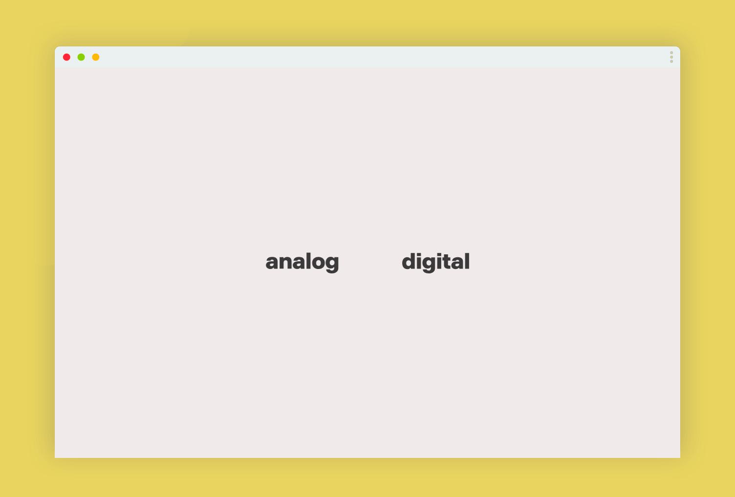 """Analog / Digital"" Super Super Studio / Tom Biskup, Filip Zdrodowski, Karolina Pakalska, Owls Department"