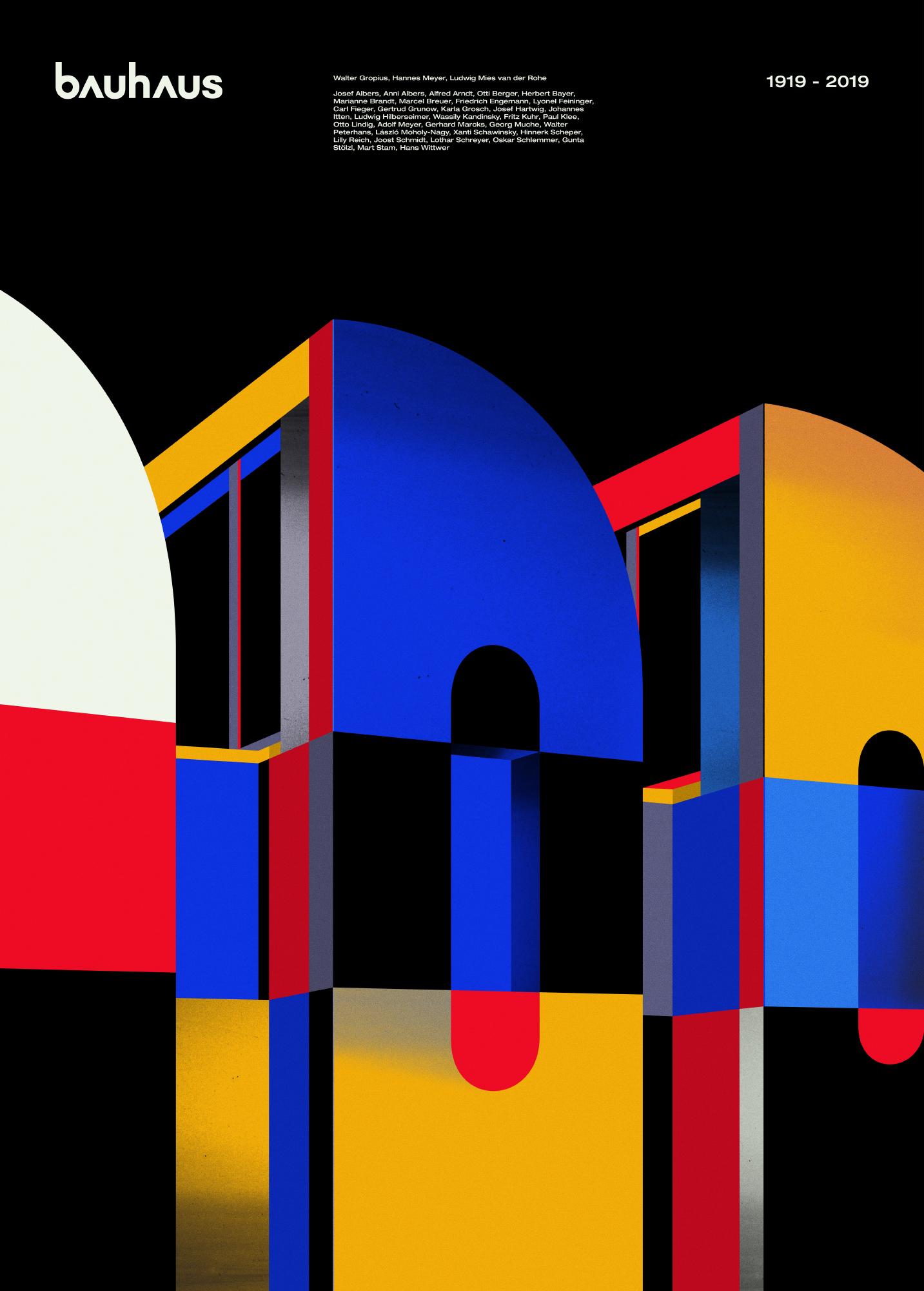 "ILLCAT / Bartek Bojarczuk ""100-lecie Bauhaus"""