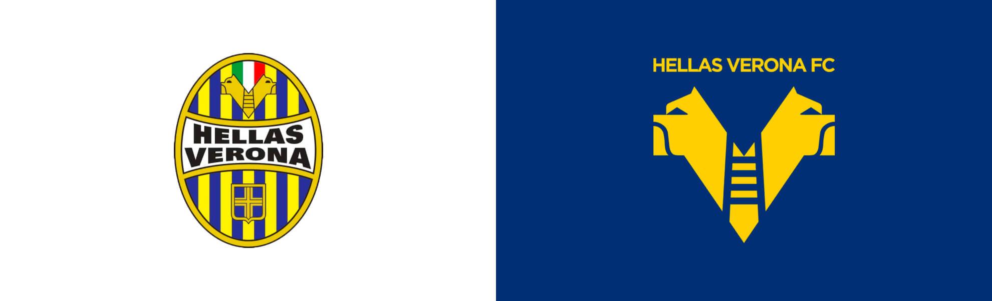 Hellas Werona znowym logo