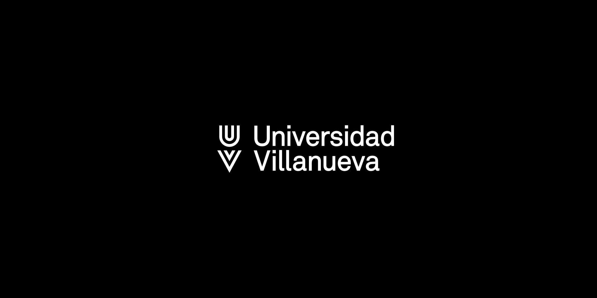 Universidad Villanueva logo wkontrze