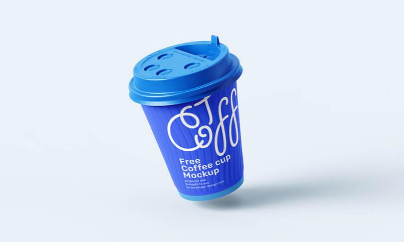 darmowy mockup kubka kawy